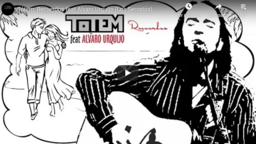 Alvaro Urquijo, Tótem, Recuerdos, Discos de musica pop española actual